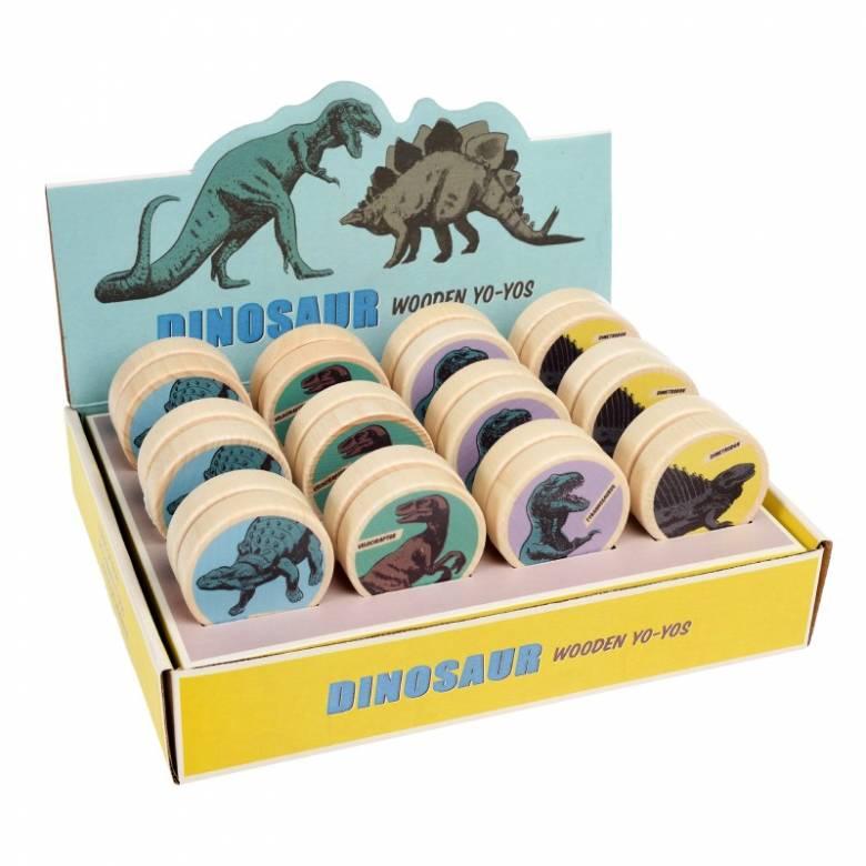 Dinosaur Wooden Yoyo