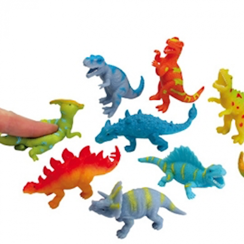 Small Beanie Stretchy Dinosaurs Toy 3+