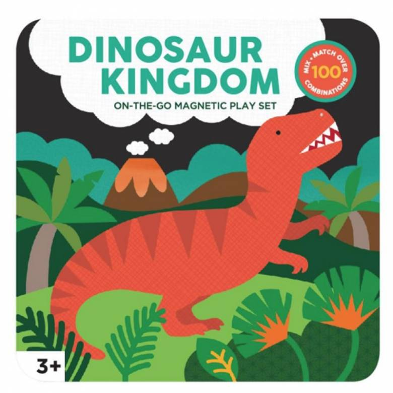 Dinosaurs - Magnetic On The Go Play Set 3+
