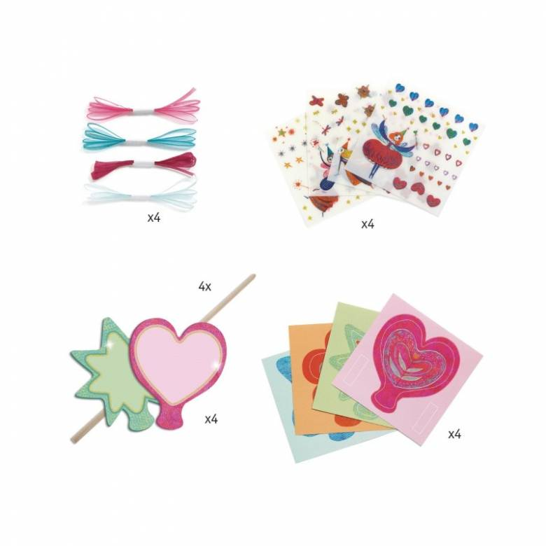 Do It Yourself Little Fairies Magic Wands Craft Set 5+