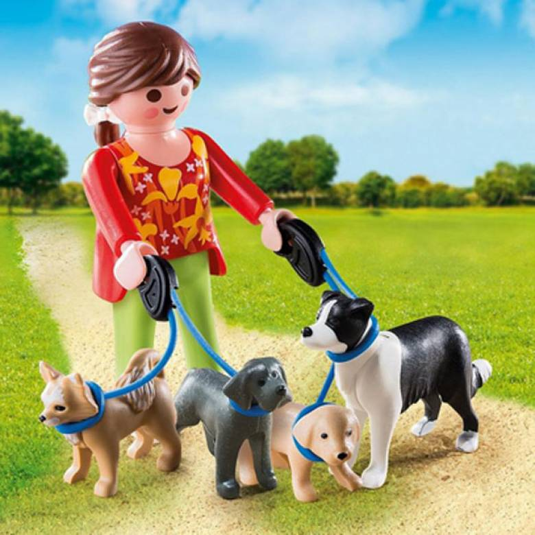 Dog Walker Special Plus Playmobil 5380
