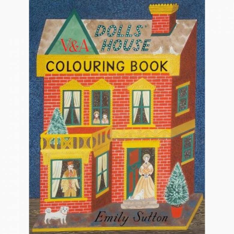 Dolls House (V&A) - Colouring Book