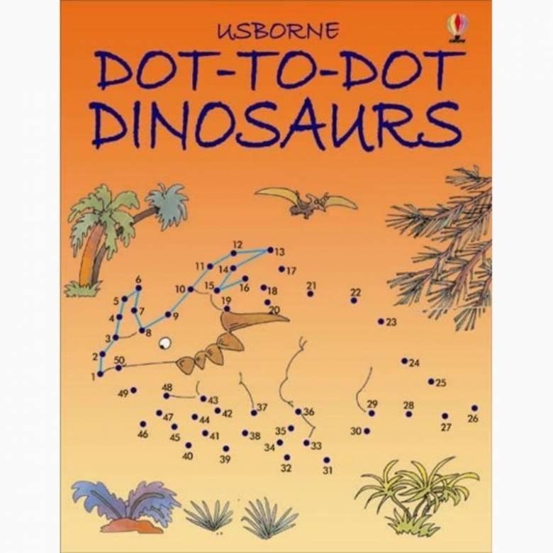 Dot-To-Dot Dinosaurs - Activity Book