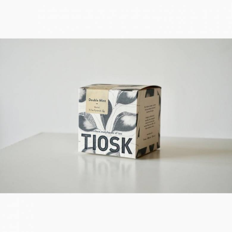 Tiosk Double Mint Box Of 15 Tea Pyramids