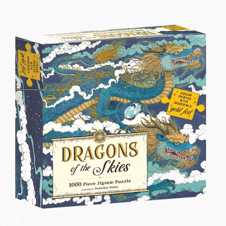 Dragons Of The Skies - 1000 Piece Jigsaw Puzzle