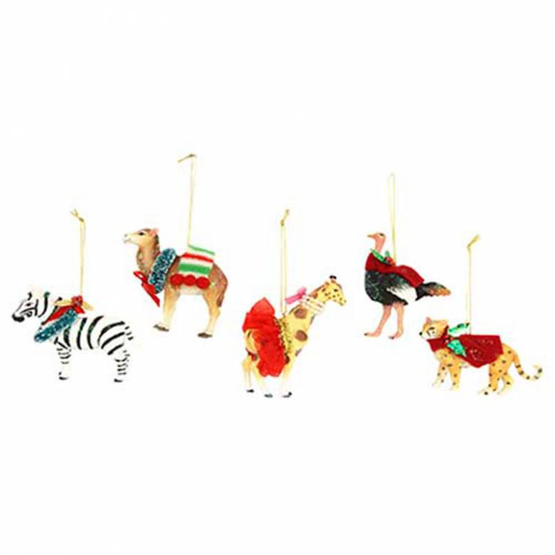 Dressed Animals Christmas Decoration