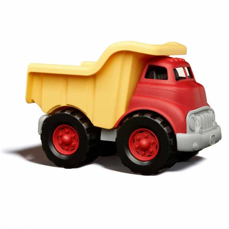 Red & Yellow Dump Truck - Green Toys Recycled Plastic 1+