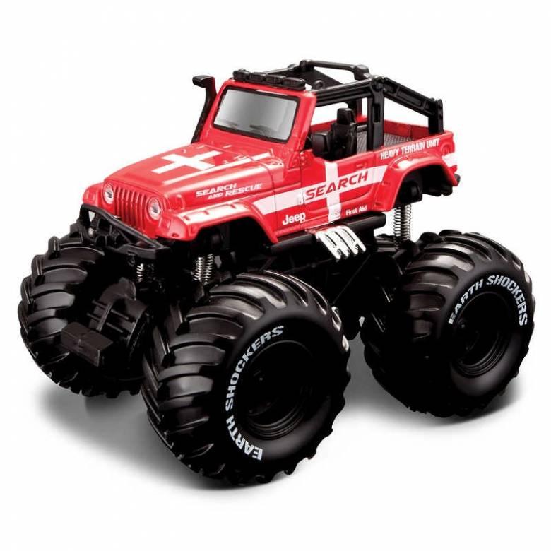 Pull Back Earth Shocker Monster Truck Toy 3+