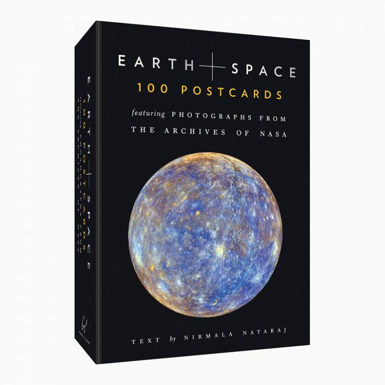 Earth & Space - Box Set Of 100 Postcards