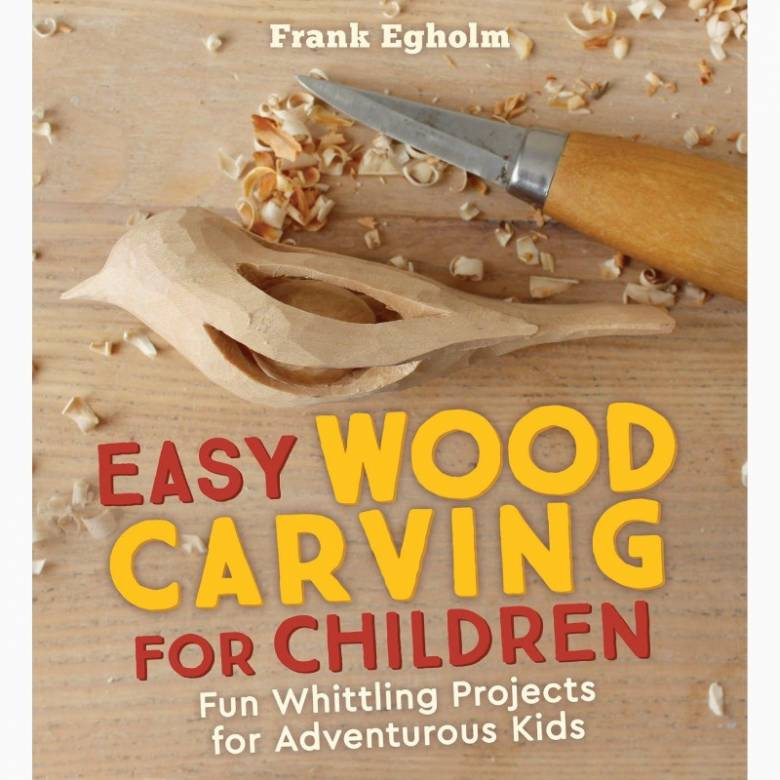 Easy Wood Carving For Children - Paperback Book