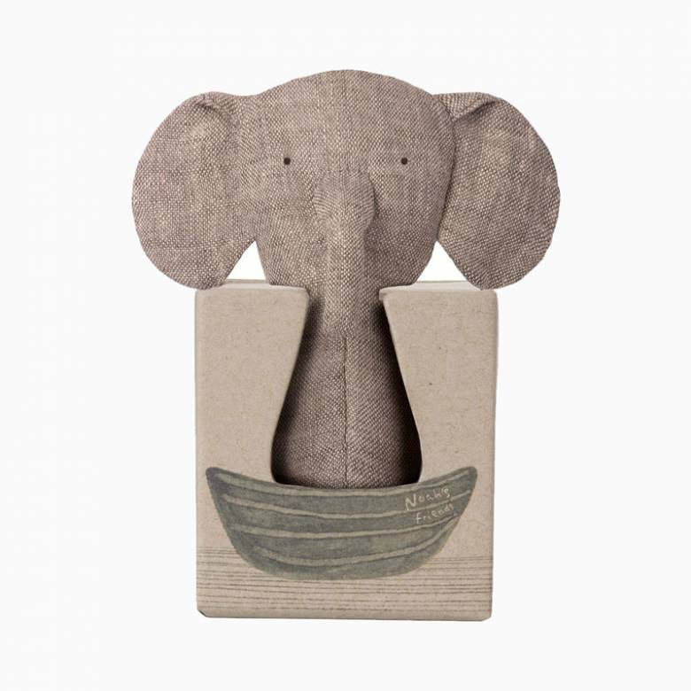Elephant Rattle By Maileg 12cm