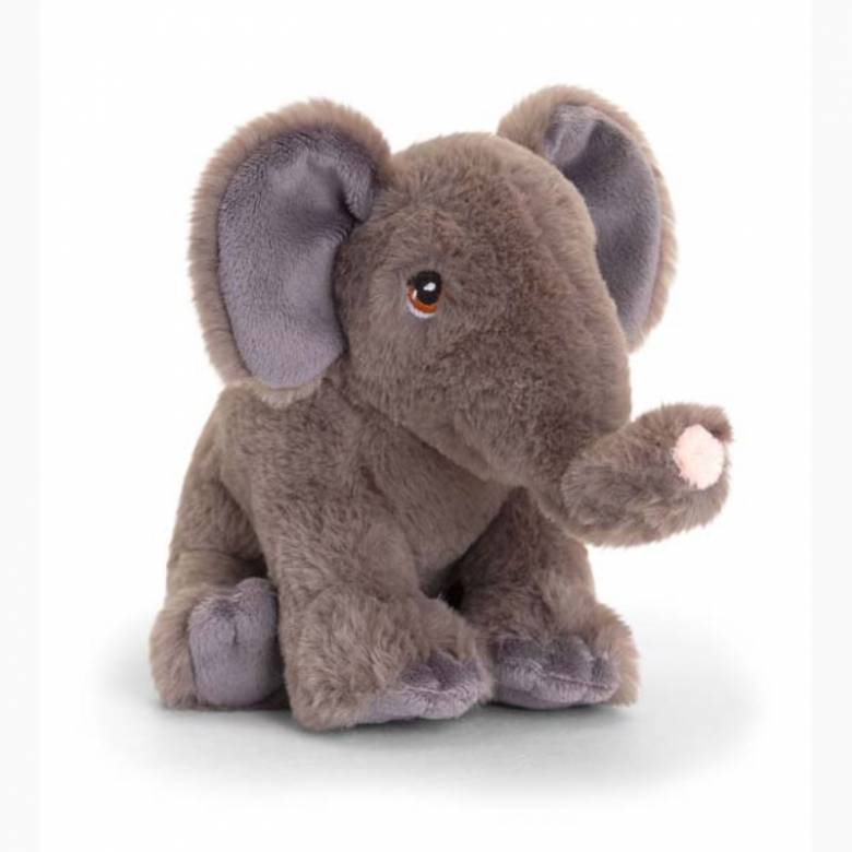 Elephant Soft Toy - Made From Recycled Plastic 0+