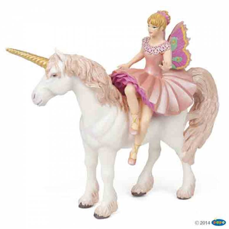 ELF BALLERINA & UNICORN Fairy Horse Papo Fantasy Animal
