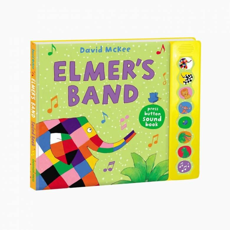 Elmer's Band - Press Button Sound Book
