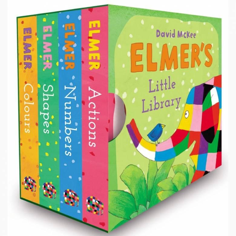 Elmer's Little Library Book Set