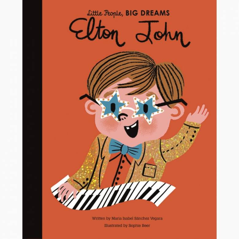 Elton John: Little People Big Dreams Hardback Book