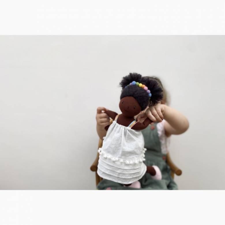 Esme Rainbow Rag Doll Toy 3+