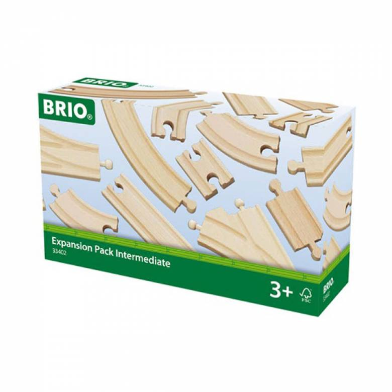 Expansion Pack Intermediate BRIO® Wooden Railway Age 3+