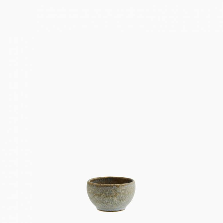 Extra Small Stoneware Bowl In Taupe