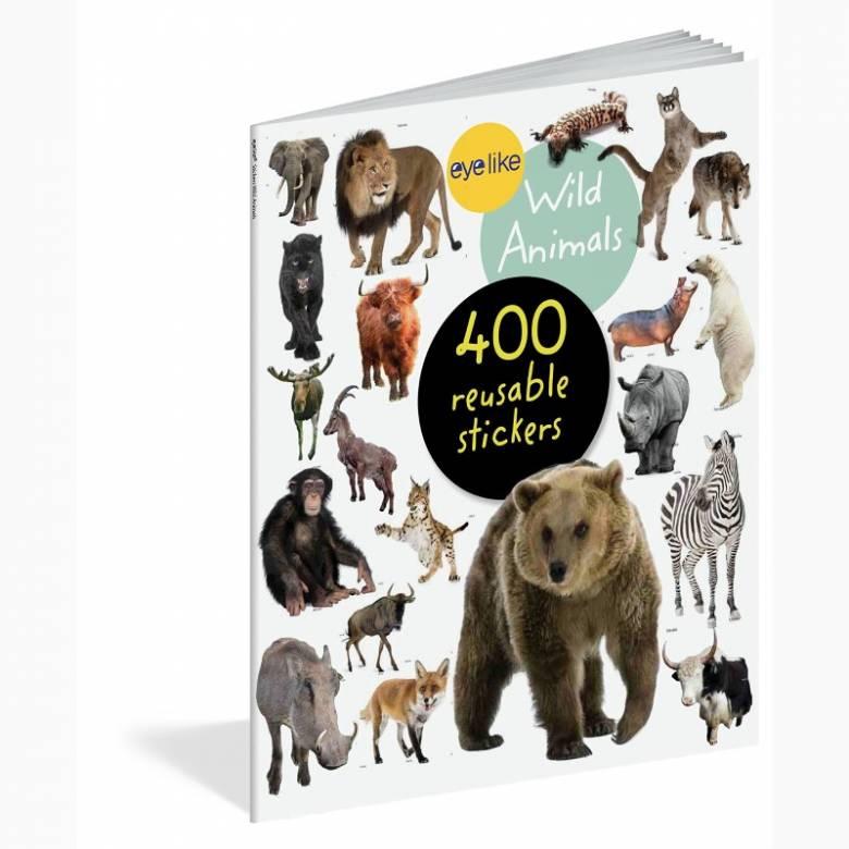 Eyelike Stickers: Wild Animals - Sticker Book