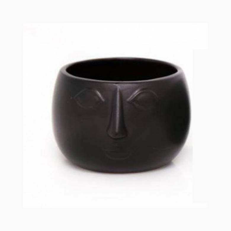 Face Planter Bowl Black 13.5cm