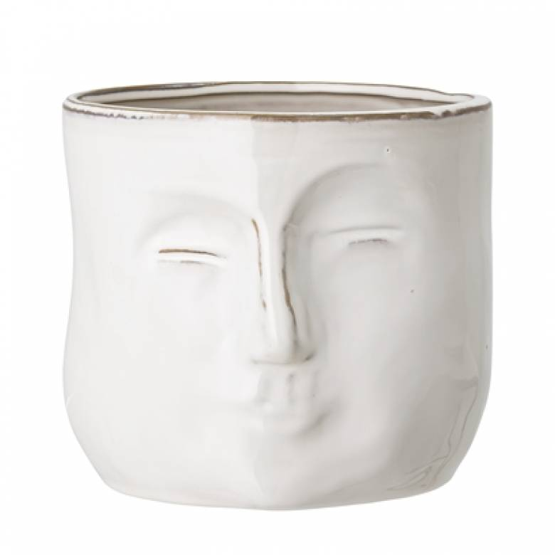 Wobbly Face Flower Pot