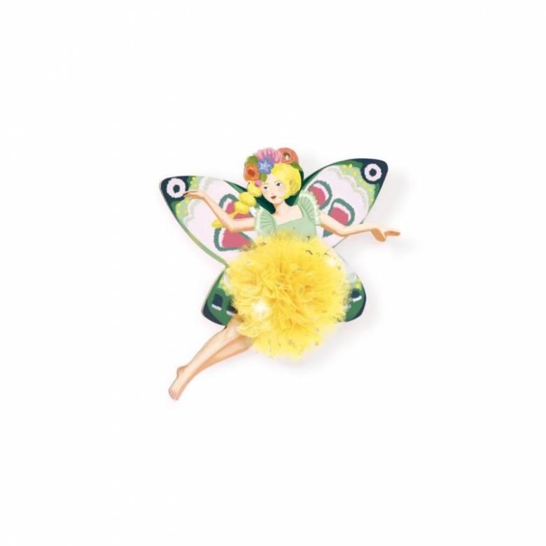 Fairy Pompoms Art Set By Djeco 7-13yrs