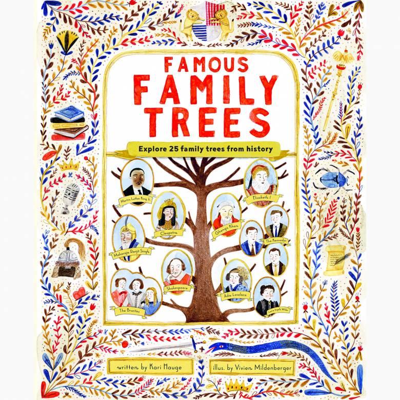 Famous Family Trees - Hardback Book