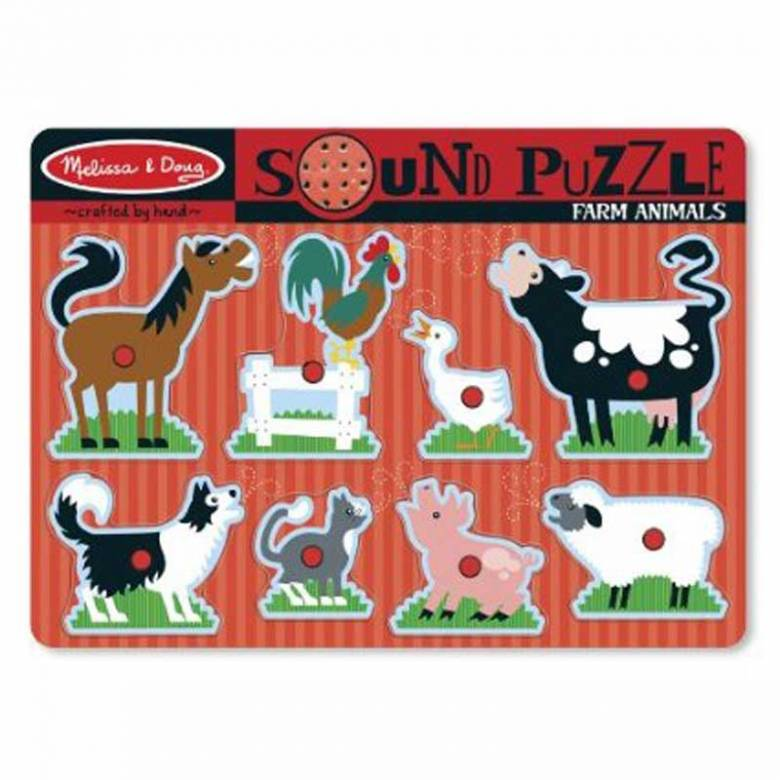 Farm Animal Sound Puzzle 2+