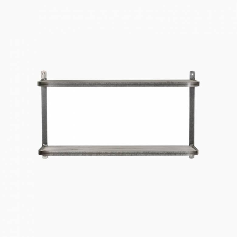 Farringdon Metal Double Wall Mounting Shelf