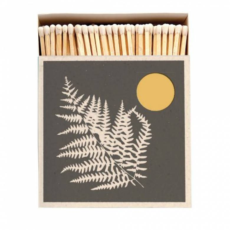 Fern - Square Box Of Safety Matches