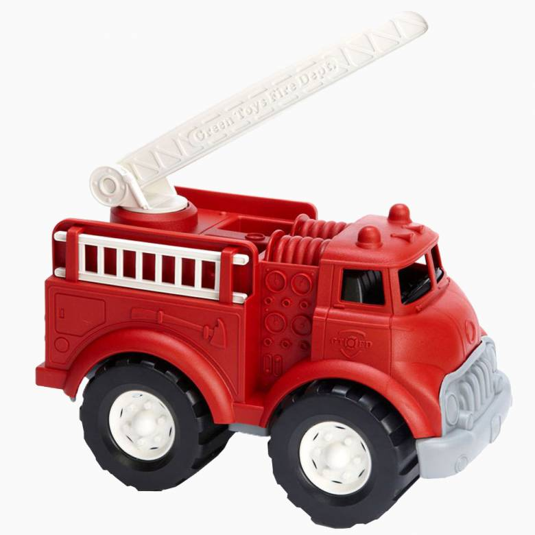 Fire Truck - Green Toys Recycled Plastic 3+