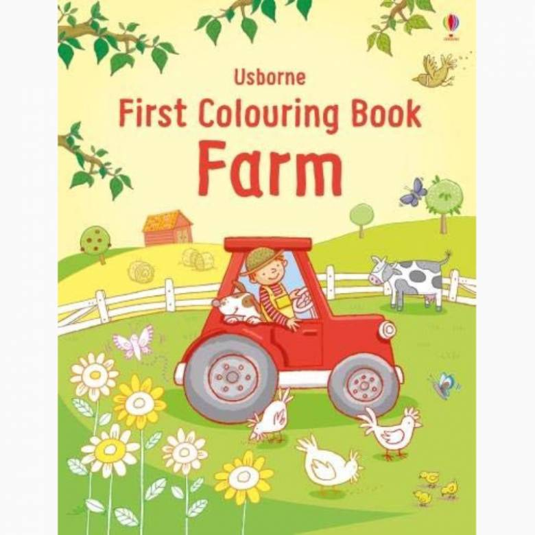 First Colouring Book: Farm - Paperback Book