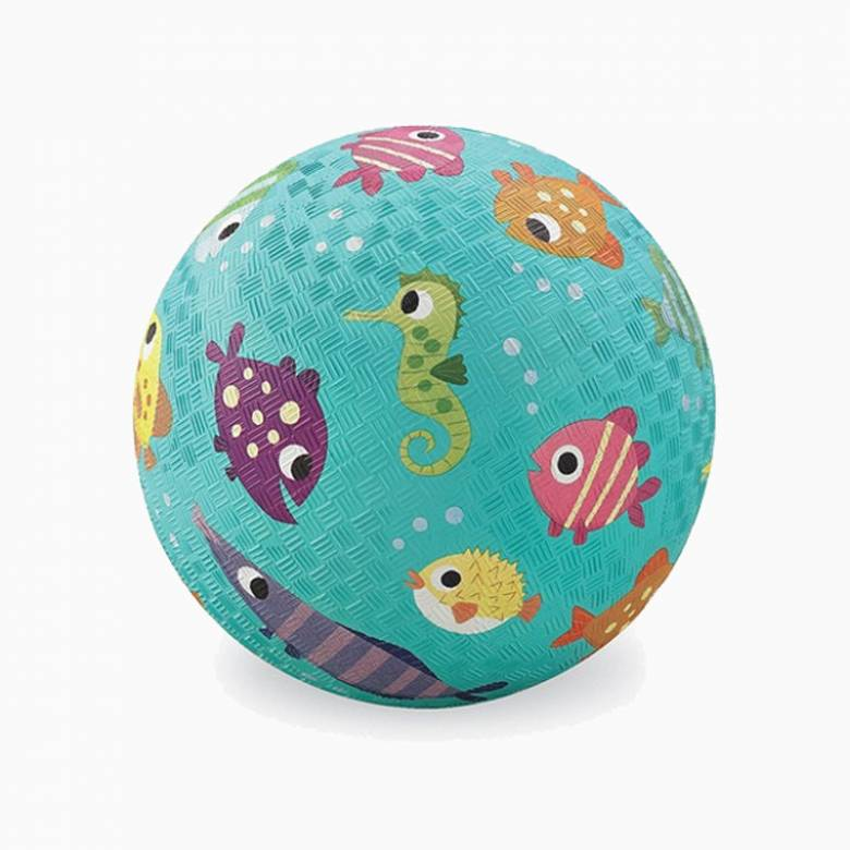 Fish - Small Rubber Picture Ball 13cm