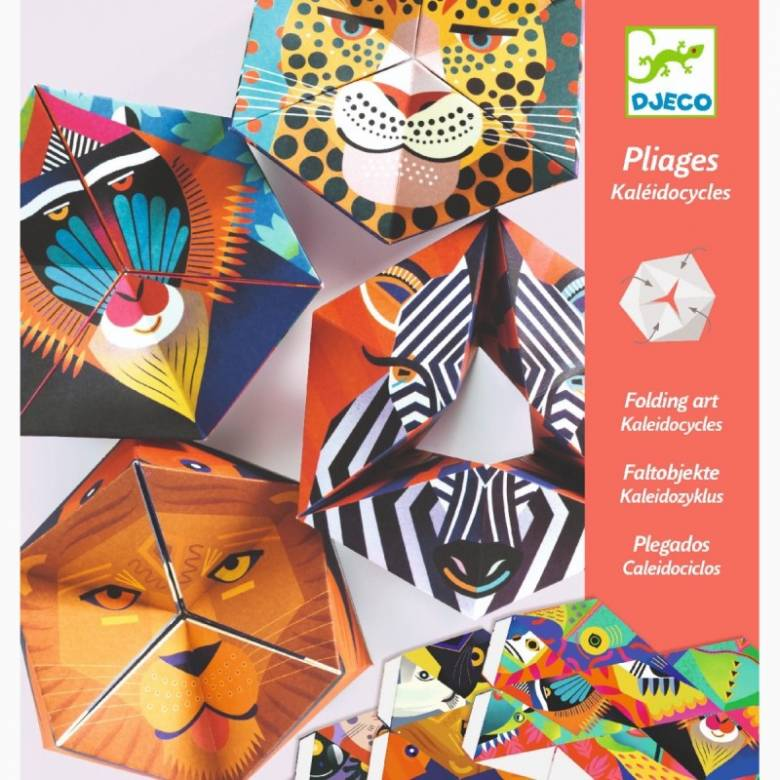 Flexanimals Kaleidocycles Origami Kit By Djeco 7+