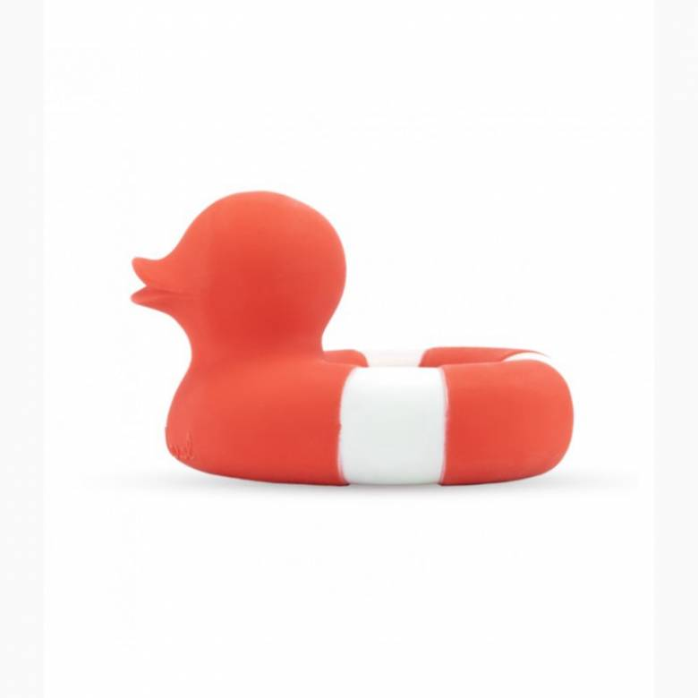 Flo The Floatie Duck Bath Toy In Red 0+