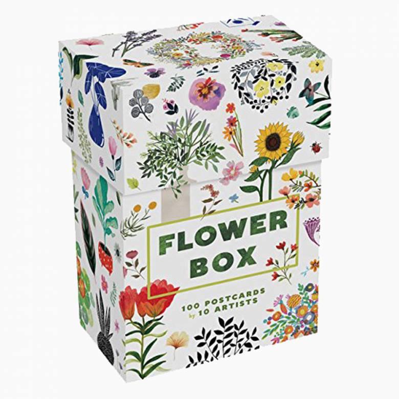 Flower Box: Set Of 100 Postcards