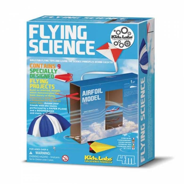 Flying Science Kit - Kids Lab 4M 8yrs+