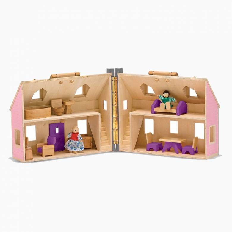 Fold And Go Mini Dolls House 3+