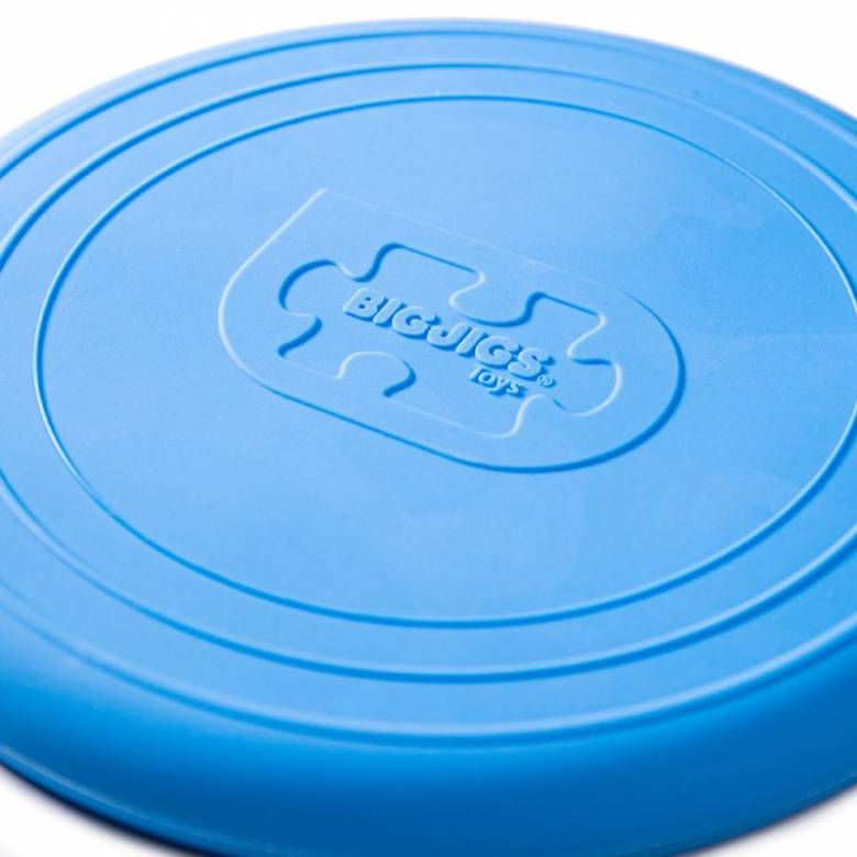 Foldable Flyer Frisbee In Ocean Blue 1+