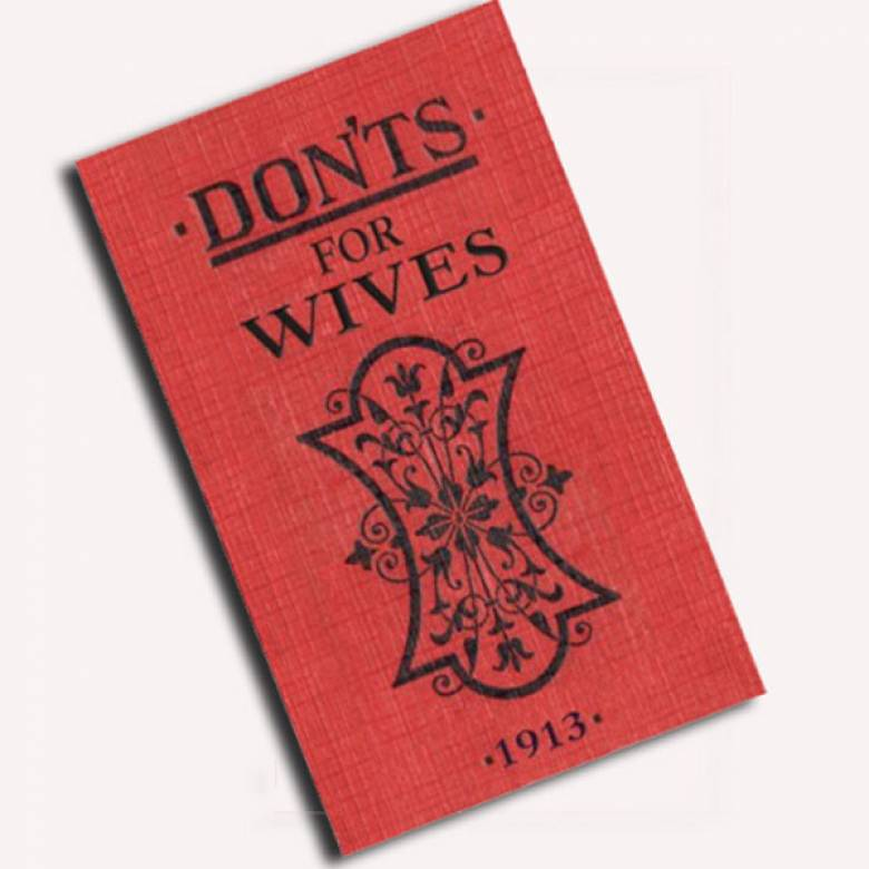 Do's and Don'ts For Wives Book