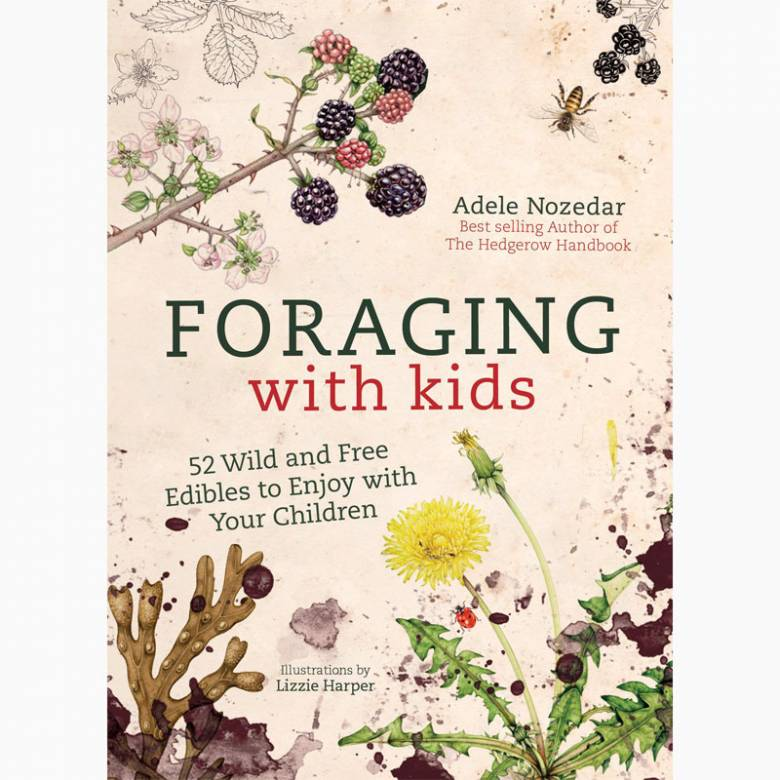 Foraging With Kids - Hardback Book