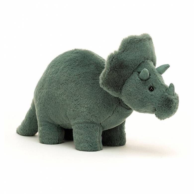 Fossilly Triceratops Soft Toy By Jellycat