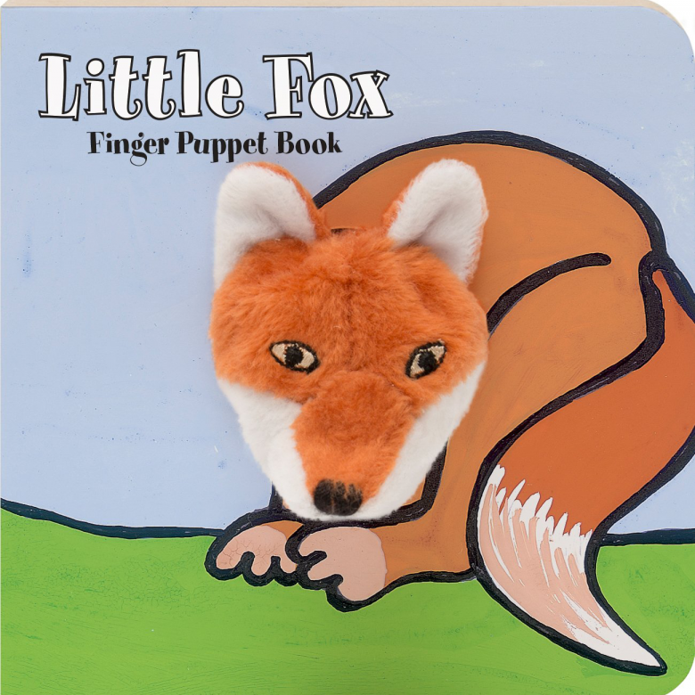Little Fox - Finger Puppet Book