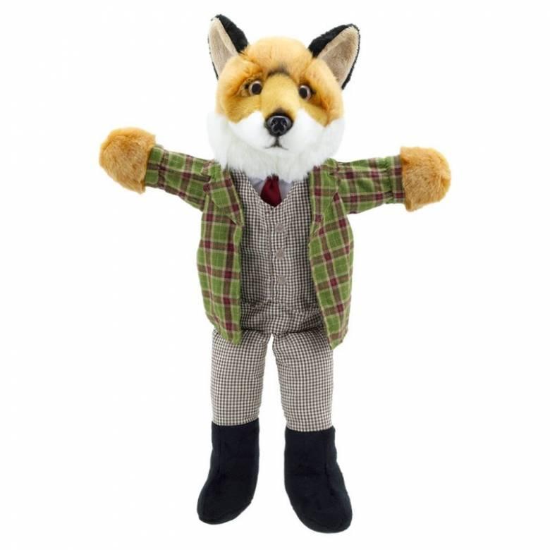 Fox - Dressed Animal Hand Puppet Soft Toy