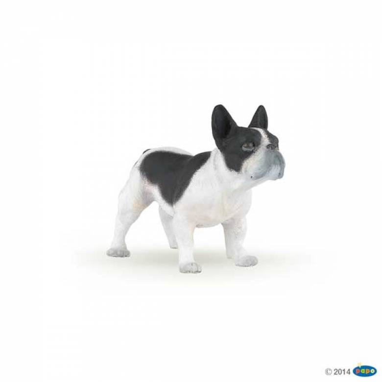 Black And White French Bulldog PAPO FARM ANIMAL