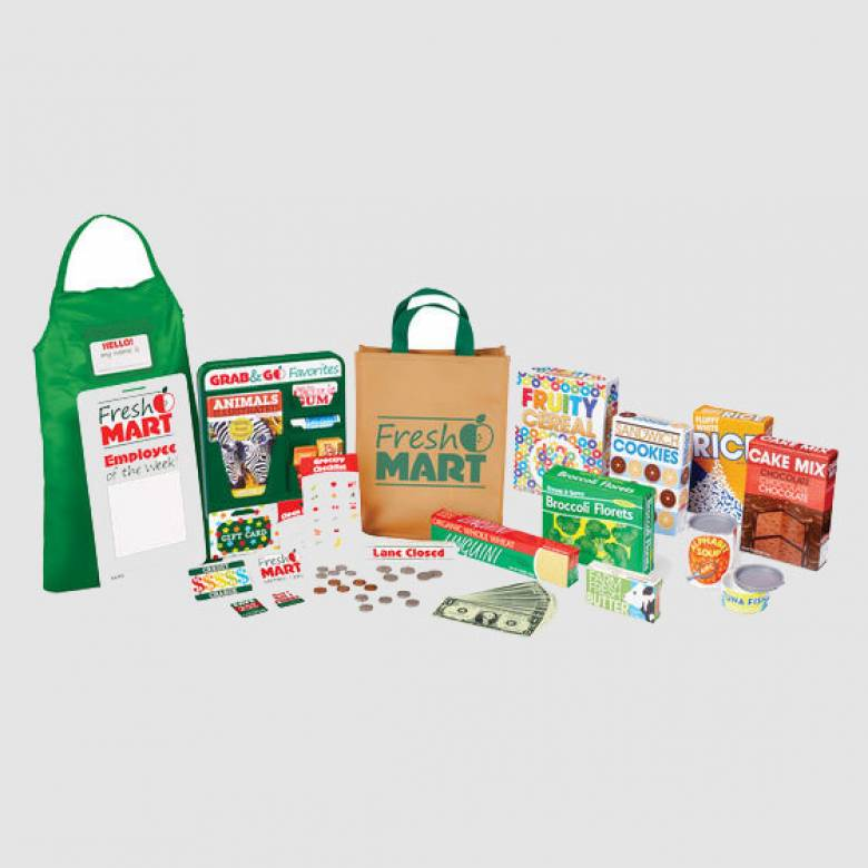 Fresh Mart Grocery Companion Set By Melissa & Doug 3+