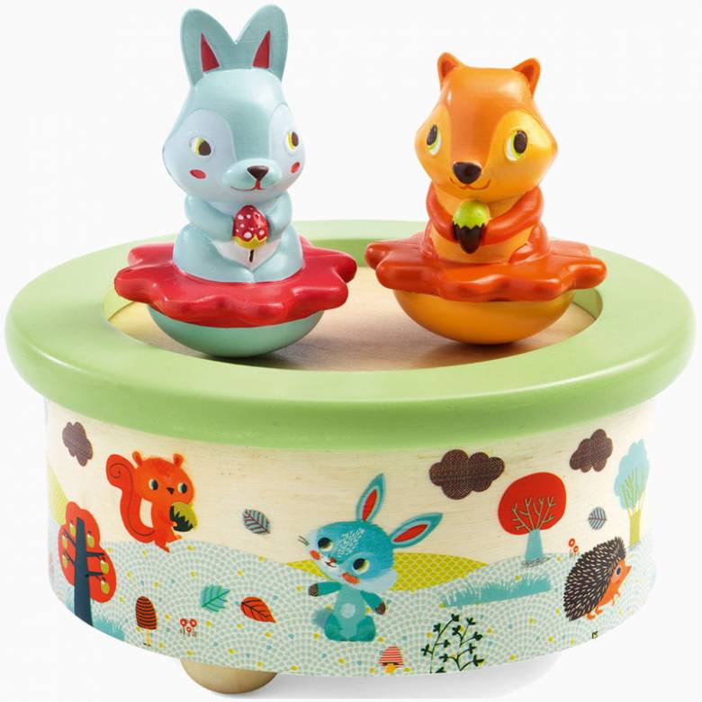 Friends Melody Fantasy Music Box By Djeco 12mth+