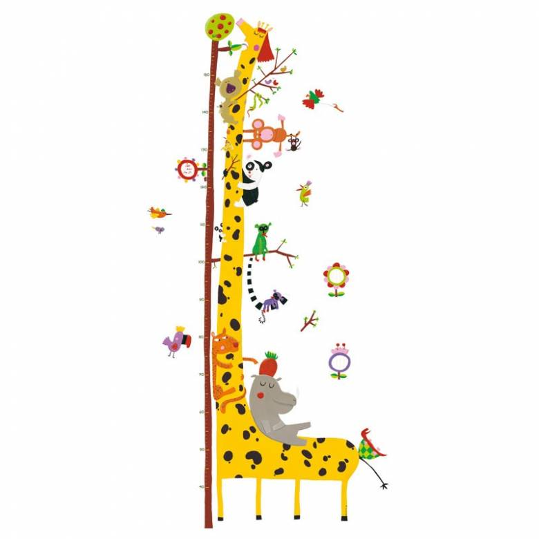 Friends Of The Amazon - Growth Chart Stickers