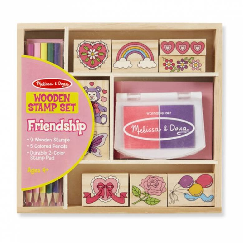 Friendship Stamp Set 4+